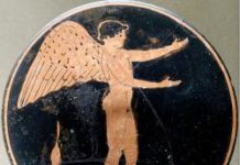Eros - Attische Malerei um 450 v-Chr