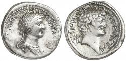 Kleopatra und Marcus Antonius