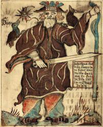 Odin mit blindem linkem Auge
