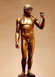 Apollon der Gott der Schönheit und Kunst