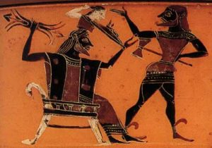 Göttervater Zeus gebiert seine Tochter - und zwar welche?