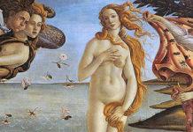 Aphrodite Geburt Muschel