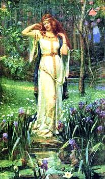 Freya, germanische Liebesgöttin und Göttin der Fruchtbarkeit