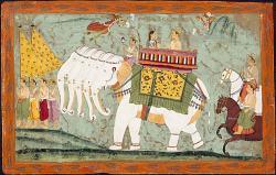 Indischer Gott Indra