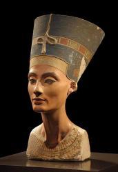 Nofretete die Frau des Pharao Echnaton